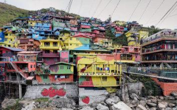Θαυμάστε τα υπέροχα πολύχρωμα σπίτια των Φιλιππίνων