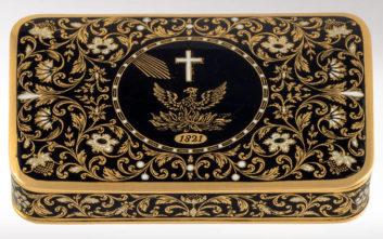 Δημοπρατείται με τιμή εκκίνησης-ρεκόρ η ταμπακιέρα του Ιωάννη Καποδίστρια