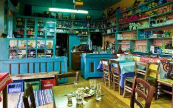 Το καφενείο- αξιοθέατο στα Τζουμέρκα
