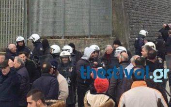 Μπλόκο σε εκατοντάδες Έλληνες στην Κακαβιά για το μνημόσυνο Κατσίφα