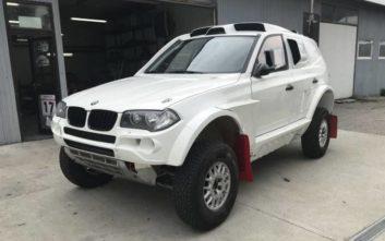 Μια «καθαρόαιμη» BMW X3 έτοιμη για το Ράλι Dakar