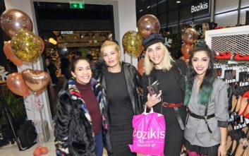 «It was a shoe Bozikis day» στα εγκαίνια νέου καταστήματος στο Χαλάνδρι