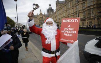 Διπλωματικός μαραθώνιος της Τερέζα Μέι για να σώσει τη συμφωνία για το Brexit