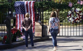Στην κηδεία του Τζορτζ Μπους του πρεσβύτερου η Μέρκελ