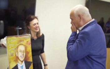 Της έδωσαν την καρδιά του γιου τους και εκείνη τους έφτιαξε το πορτρέτο του