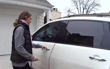 Πώς μια γυναίκα κατάφερε να τρομάξει τον κλέφτη που ετοιμαζόταν να φύγει με το αυτοκίνητό της