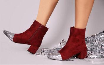 Τα πιο «λαμπερά» παπούτσια για τις γιορτές