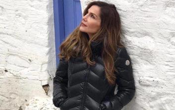 Η Δέσποινα Βανδή σε ρόλο… Βίρνας Δράκου από τη «Λάμψη»