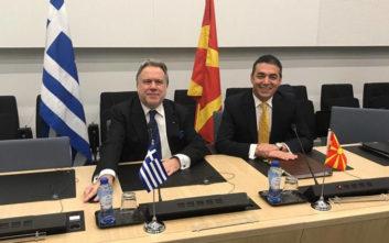 Κατρούγκαλος σε Σκοπιανό ΥΠΕΞ: Να αποφεύγονται οι προβληματικές δηλώσεις