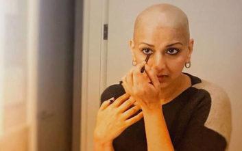 Τα μηνύματα της ηθοποιού για τον καρκίνο ενέπνευσαν τους θαυμαστές
