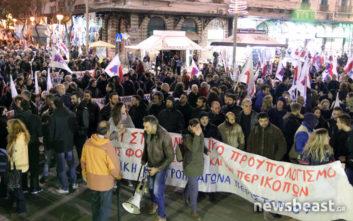 Στην Ομόνοια τα συνδικάτα του ΠΑΜΕ κατά του προϋπολογισμού
