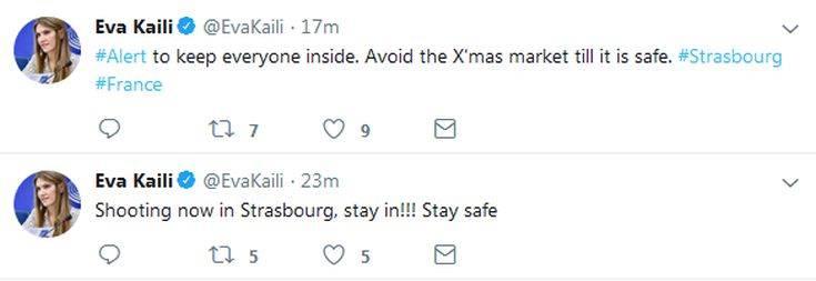 Πυροβολισμοί με νεκρό σε χριστουγεννιάτικη αγορά στο Στρασβούργο
