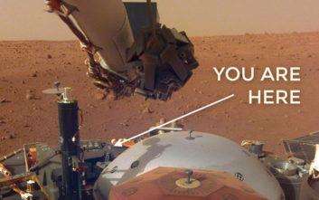 Οι νέες φωτογραφίες του InSight από τον Άρη