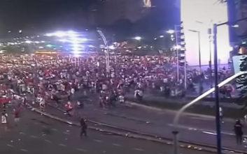 Πεδίο μάχης το Μπουένος Άιρες λόγω πανηγυρισμών