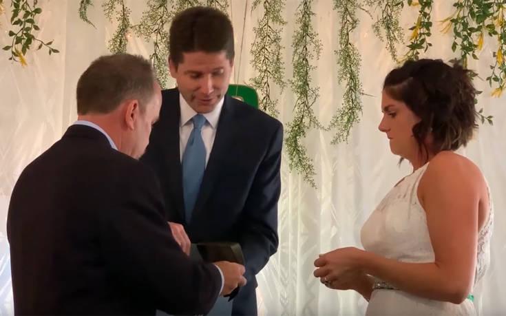 Παντρεύτηκαν με βέρες από… μετεωρίτη