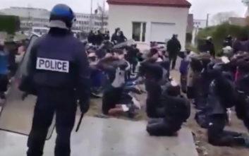 Σάλος με βίντεο από συλλήψεις μαθητών στη Γαλλία