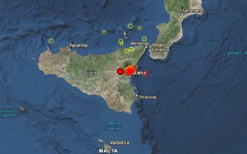 Τρόμος από σεισμό στη Σικελία