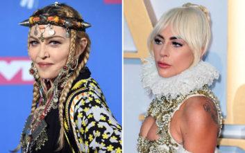 Αγριεύει η κόντρα της Μαντόνα με τη Lady Gaga