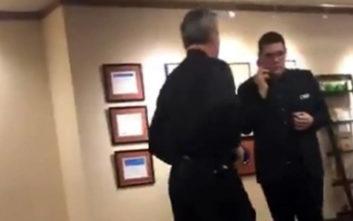 Υπάλληλοι ξενοδοχείου έδιωξαν Αφροαμερικανό που απλώς μιλούσε στο τηλέφωνο