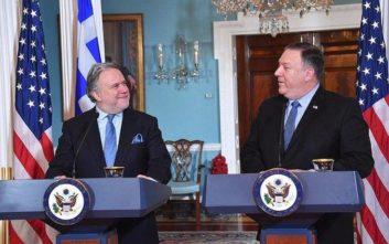 Τι αναφέρει το κοινό ανακοινωθέν για τον στρατηγικό διάλογο Ελλάδας - ΗΠΑ