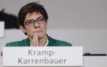 Η πρόεδρος του CDU αναλαμβάνει νέα υπουργός Άμυνας της Γερμανίας