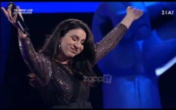 Μεγάλη νικήτρια του The Voice η Λεμονιά Μπέζα