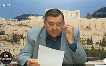 Γιώργος Καρατζαφέρης: Σας δηλώνω ότι το κανάλι κλείνει
