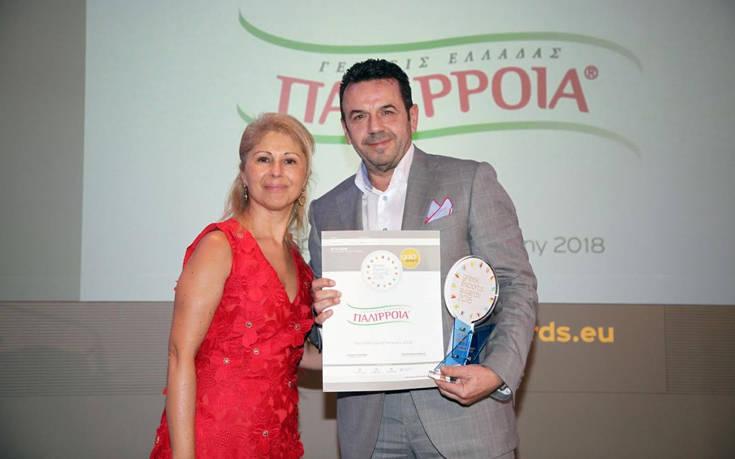 Βράβευση της Παλίρροια στα Greek Exports Awards 2018