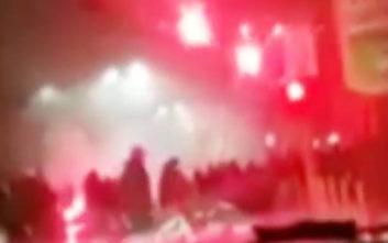 Βίντεο από τα αιματηρά επεισόδια στο Σαν Σίρο