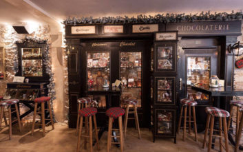Η σοκολατερί του Paraty σημείο αναφοράς στη χριστουγεννιάτικη Θεσσαλονίκη