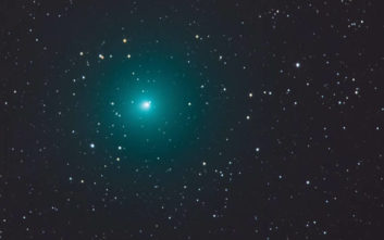Κομήτης θα περάσει κοντά από τη Γη το Σαββατοκύριακο