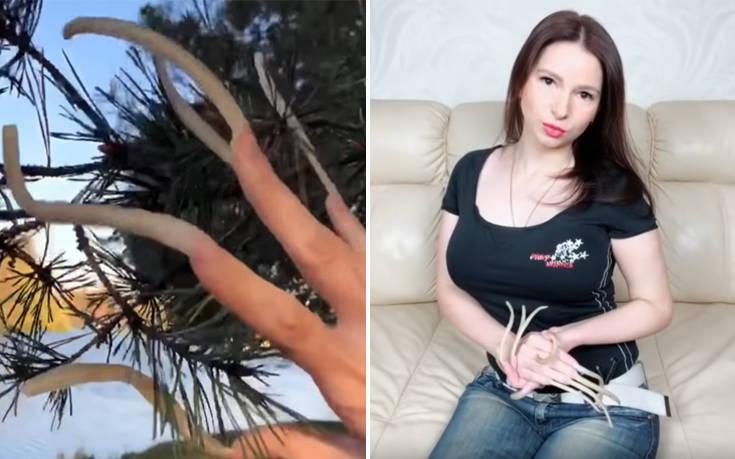 Η γυναίκα με τα πιο μακριά νύχια της Ρωσίας δείχνει πώς είναι η καθημερινότητά της