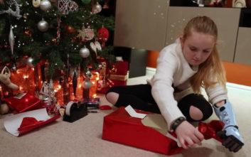 Το δώρο που πήρε αυτή η μικρή για τα Χριστούγεννα της άλλαξε τη ζωή