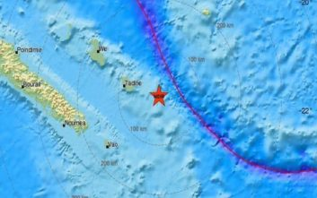Σεισμός στο νησί Νόρλφολκ της Αυστραλίας