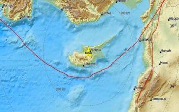 Σεισμός τη νύχτα στην Κύπρο