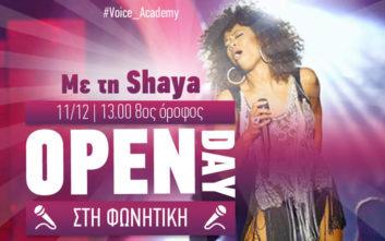 Το ΙΕΚ ΑΛΦΑ Πειραιά και η Shaya σε προσκαλούν στο Open Day Φωνητικής του AΛΦΑ studies