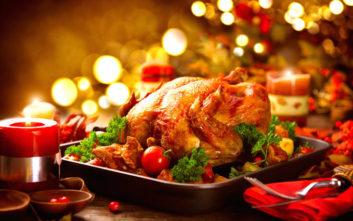 Πόσο μεγάλη γαλοπούλα χρειάζεστε για το χριστουγεννιάτικο τραπέζι