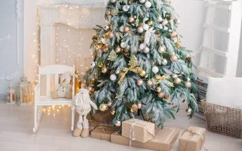 Εννέα μοναδικές προτάσεις για να στολίσετε το χριστουγεννιάτικο δέντρο
