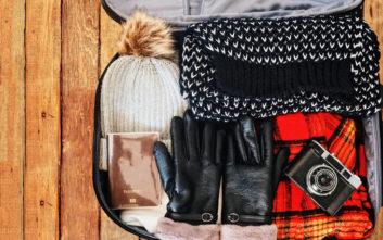 Τι να πακετάρετε τελευταία στιγμή για τις χειμερινές διακοπές