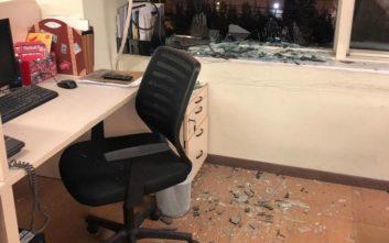 Δείτε φωτογραφίες μέσα από το ΣΚΑΪ μετά την έκρηξη