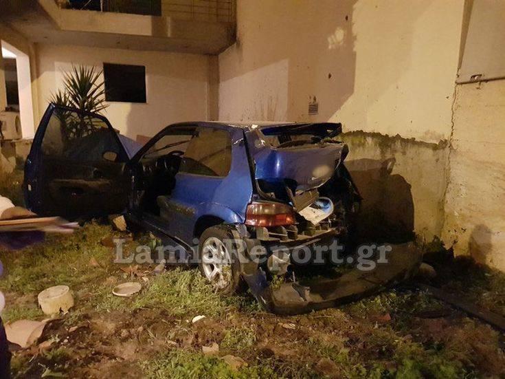 Νεαρός τραυματίστηκε σοβαρά σε τροχαίο στη Λαμία
