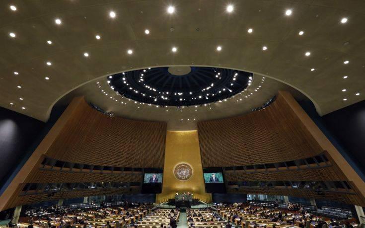 Ψηφοφορία σήμερα στον ΟΗΕ για σχέδιο απόφασης των ΗΠΑ
