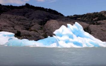 Έχετε δει ποτέ το… κάτω μέρος του παγόβουνου