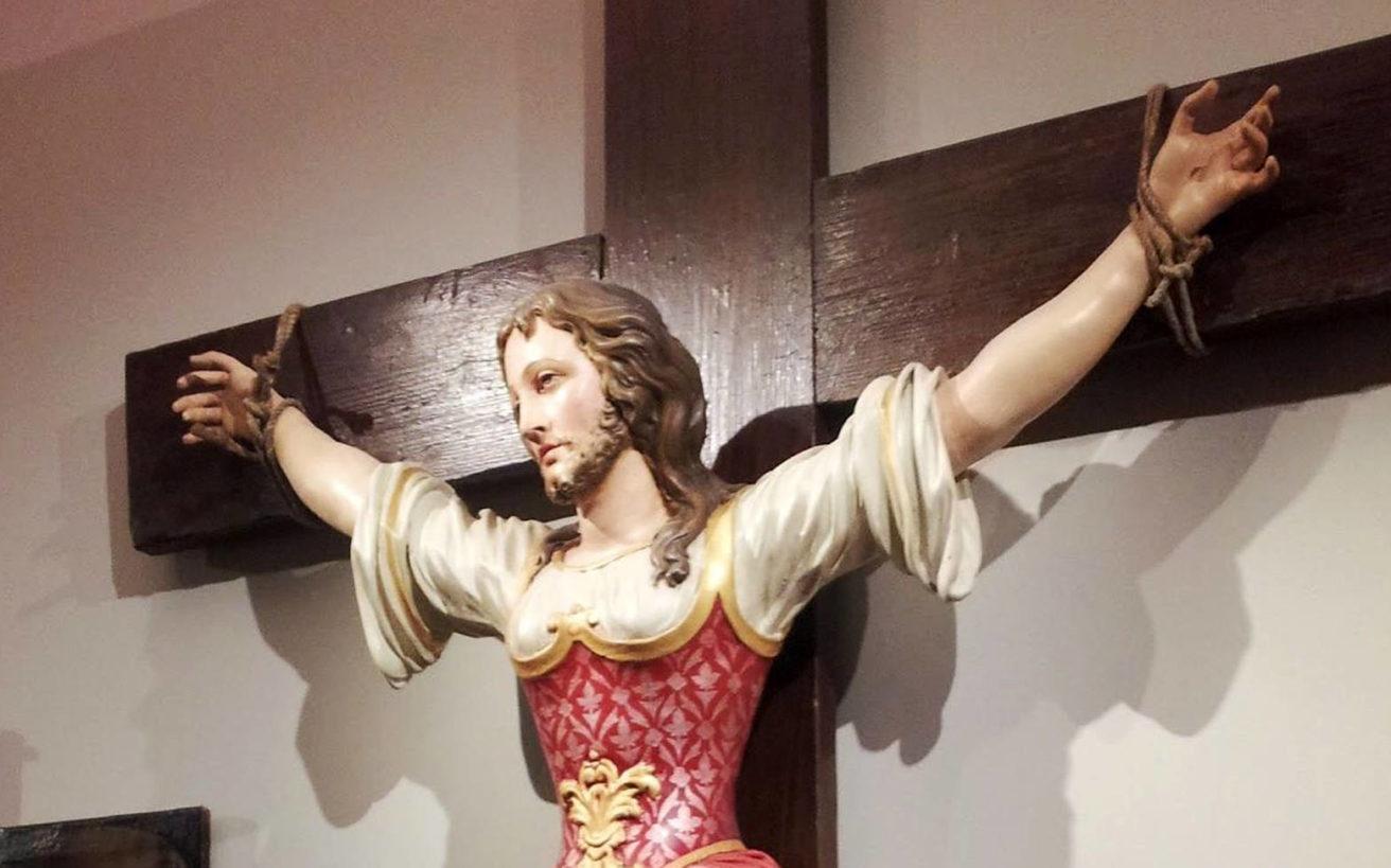 Ο μύθος γύρω από το πρόσωπο της Αγίας των καθολικών που είχε μούσι
