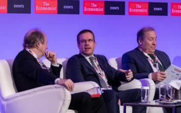 Η Κωτσόβολος στο συνέδριο του Economist