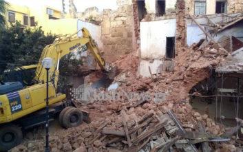 Κατεδαφίζονται κτίσματα στα Χανιά για την ανάδειξη του βυζαντινού τείχους