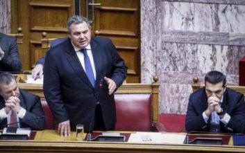 Καμμένος: Είπαμε να αναβάλουμε τη συνάντηση με τον πρωθυπουργό λόγω εμπλοκής στην ΠΓΔΜ