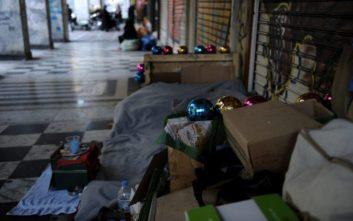 Δεκάδες άστεγοι στα ζεστά «καταφύγια» του Δήμου Αθηναίων