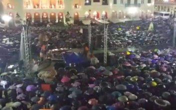Με έντονη βροχή η έναρξη του φετινού Πατρινού Καρναβαλιού