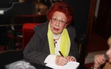 Έφυγε από τη ζωή η δημοσιογράφος Κική Σεγδίτσα